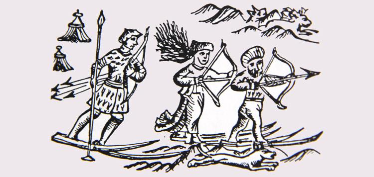 Een afbeelding uit 'Historia de gentibus septentrionalibus'.